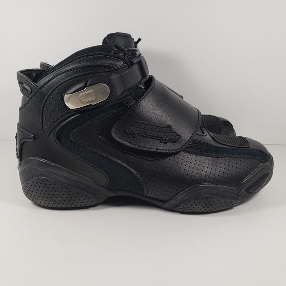 Speed and Strength Other - Speed and Strength Black Moto Shoes Men's Size 9